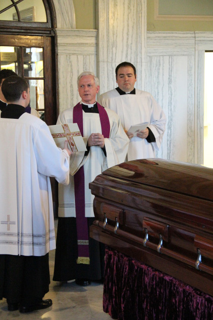 Cardinal Bevilacqua laid to rest after funeral rites