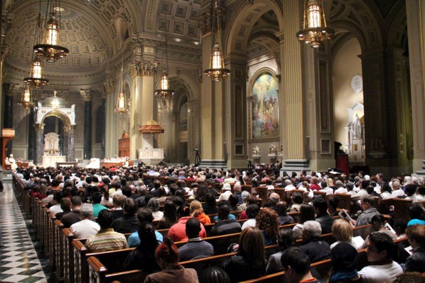 Year of Faith opening at Philadelphia Cathedral