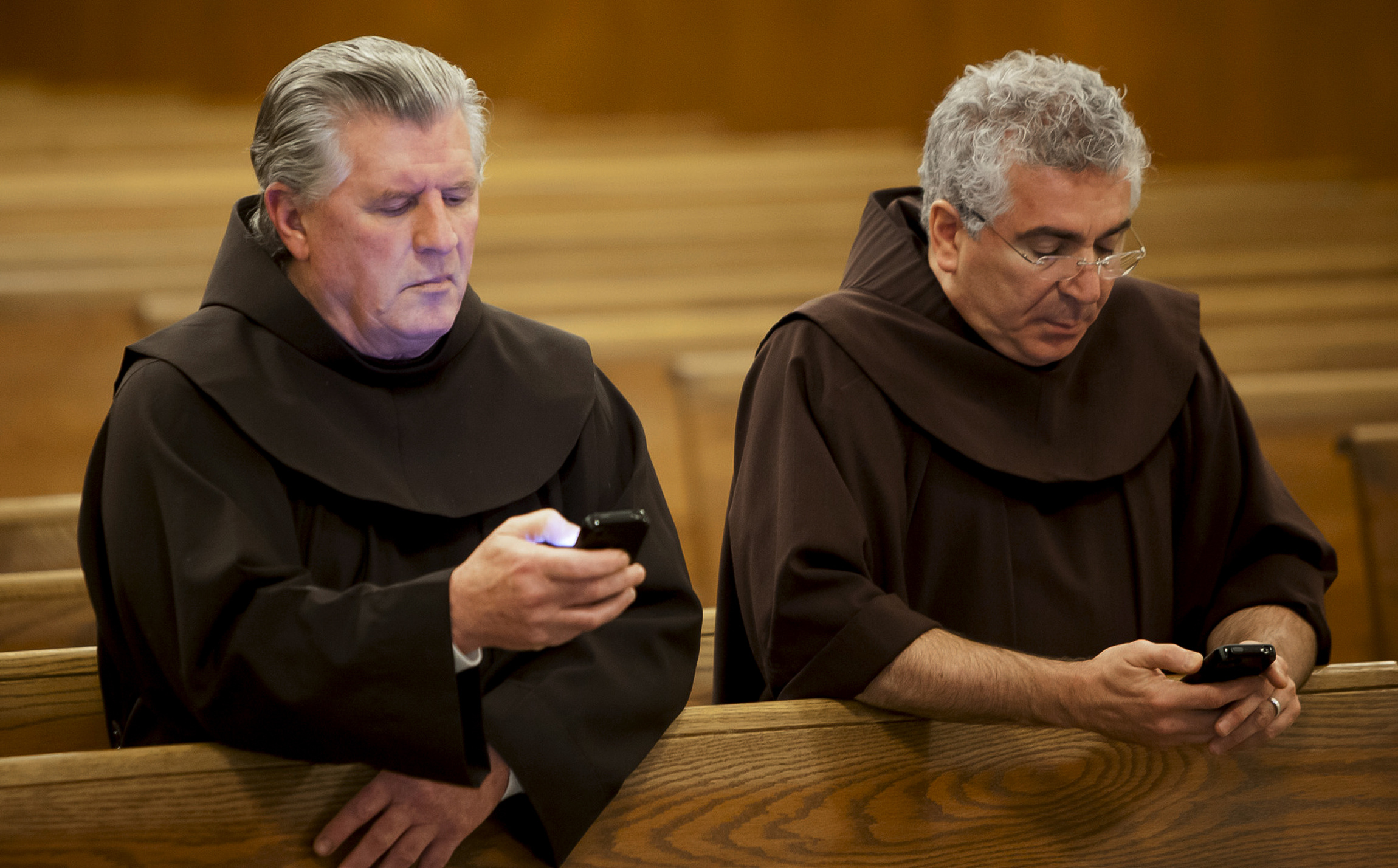 Franciscan Friars Pray For Intentions Via Texting