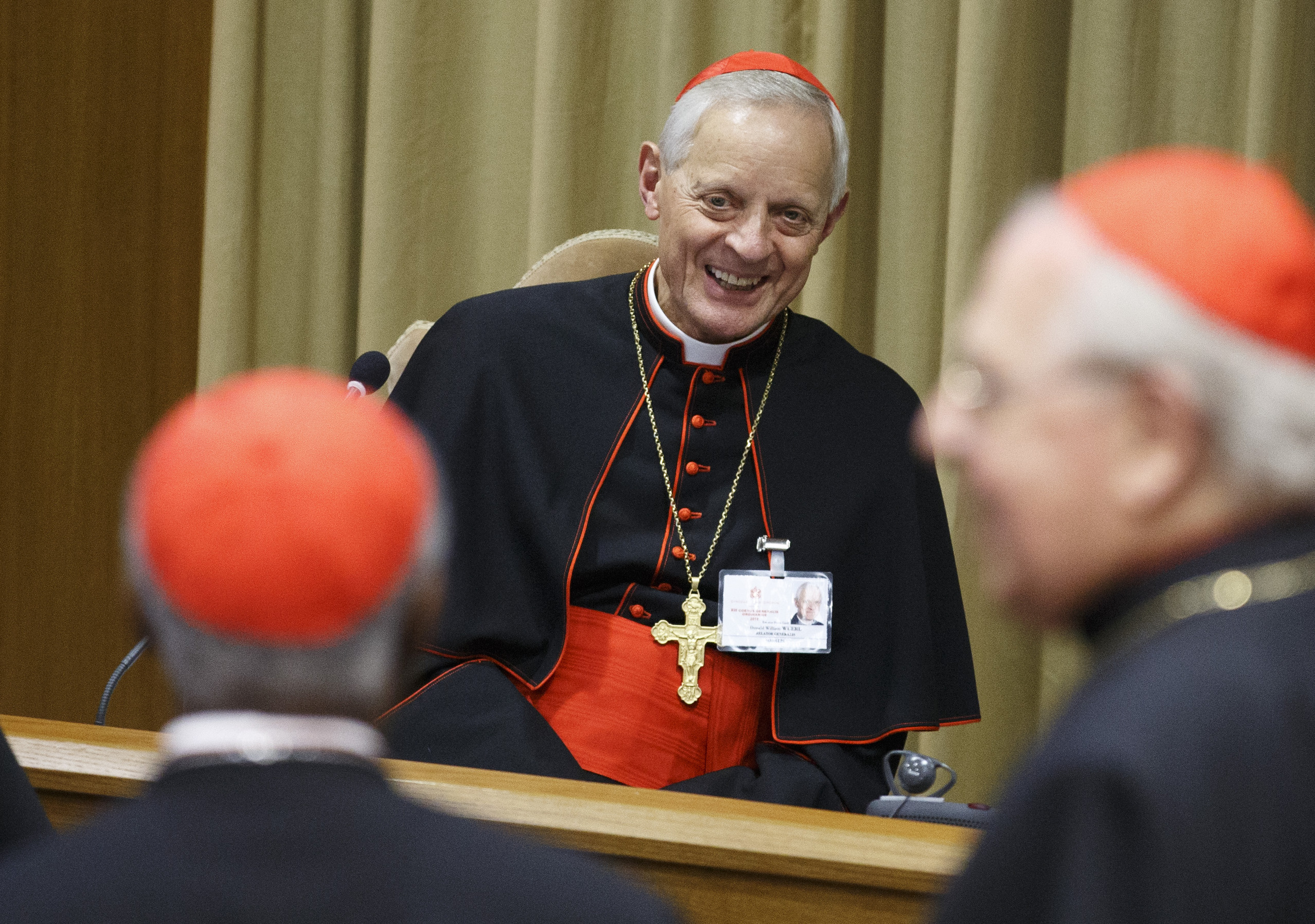 cardinal wuerl  confronting secularism a priority for next