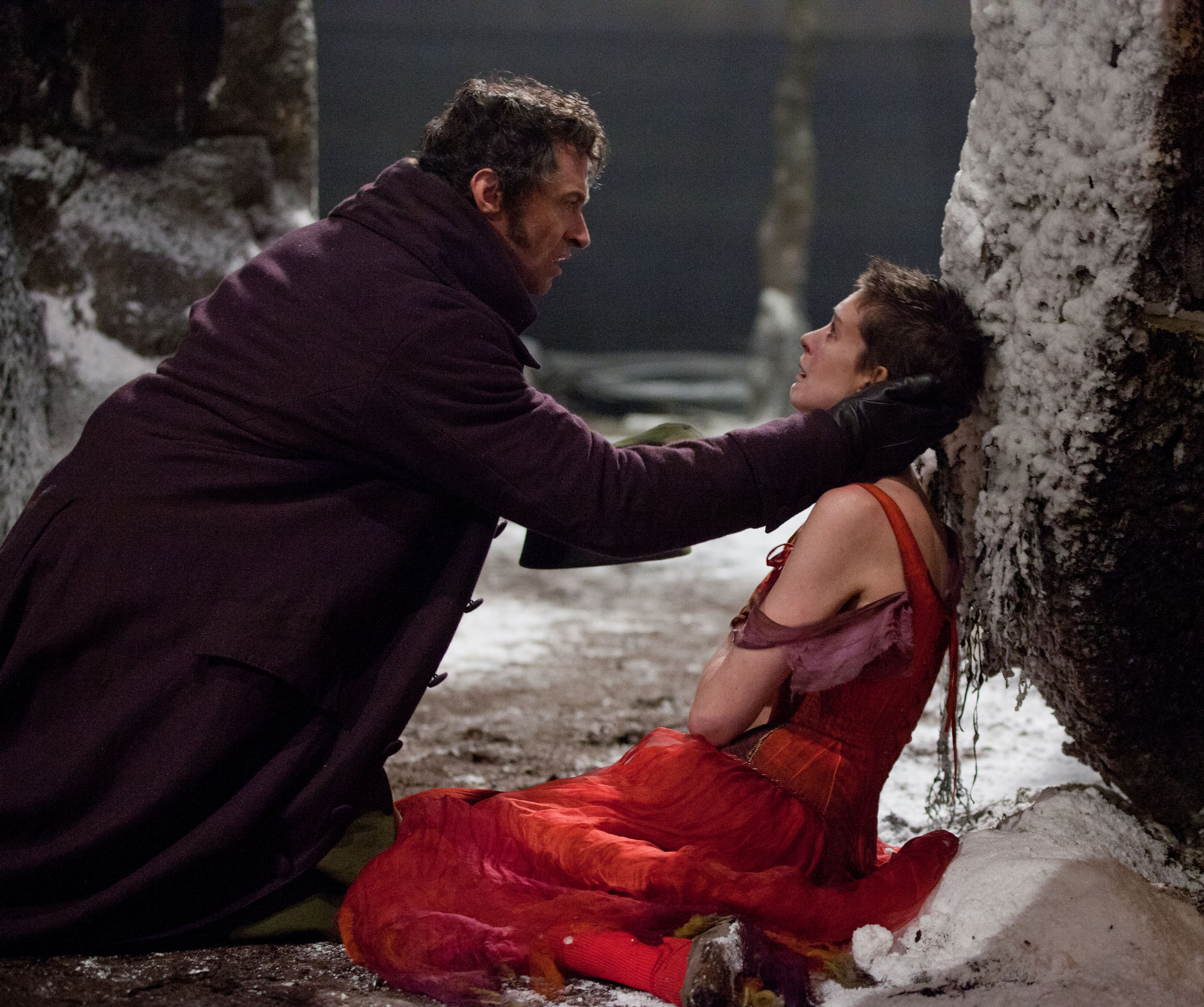 SCENE FROM MOVIE 'LES MISERABLES'
