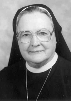 Sister Honora Mary Ivers, I.H.M.