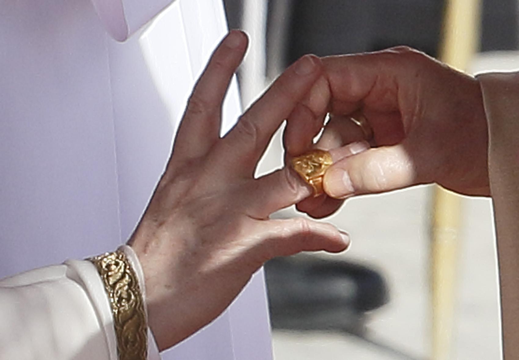 ring from Cardinal Ang...