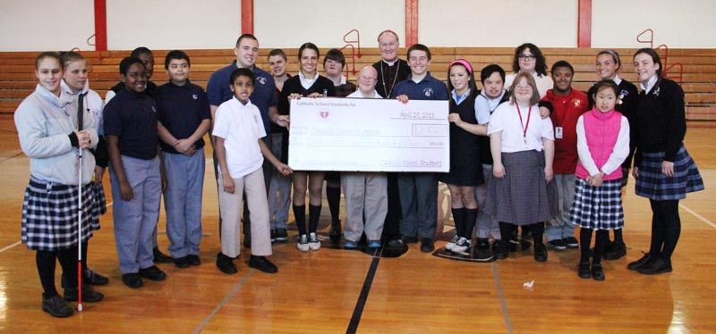 Catholic Students Raise A Lot More Than Nickels For Special Ed