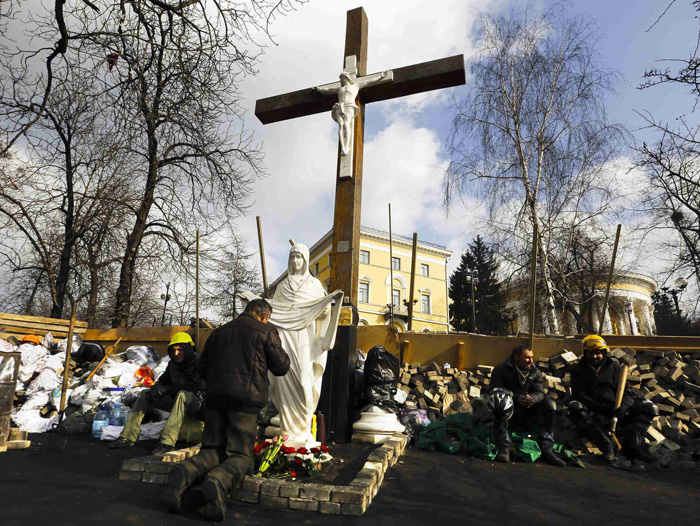 Archbishop Prays For Peace In Ukraine God S Protection Of