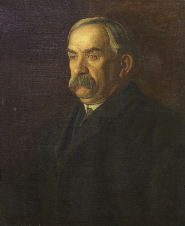 """James A. Flaherty"" (1903) by Thomas Eakins."