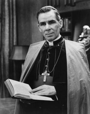 Archbishop Fulton J. Sheen in an undated file photo. (CNS file photo)