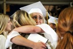 St. Hubert High School's graduating seniors shed tears of joy and a little sadness after saying goodbye to old friends at the school's graduation before they embark on their future.