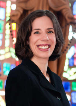 Mary Beth Yount, theology professor and former official for the World Meeting of Families in Philadelphia, has founded the Catholic Family Fun Club, a digital initiative for families.