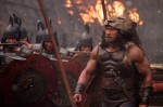 "Dwayne Johnson stars in a scene from the movie ""Hercules."" (CNS photo/Kerry Brown, Paramount)"
