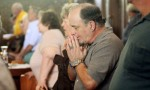 Frank Angelucci prays at St. Joseph Church in Spring City.