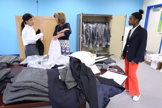 New High School Offers Teens Rigorous Classes Links With Businesses Catholic Philly