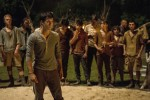"Dylan O'Brien stars in a scene from the movie ""The Maze Runner."" (CNS photo/Fox)"