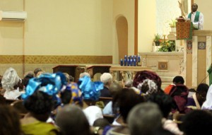 African Mass homily Fr. Stephen Gitonga Kenyan Community IMG_9494