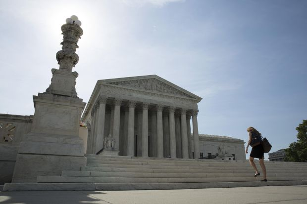 The U.S. Supreme Court building in Washington, D.C. (CNS photo/Joshua Roberts, Reuters)