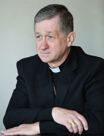 Archbishop Blase J. Cupich is seen in this Oct. 6, 2014 file photo. (CNS photo/Bob Roller)