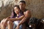 "Gugu Mbatha-Raw (left) and Nate Parker star in a scene from the movie ""Beyond the Lights."" The Catholic News Service classification is A-III -- adults. The Motion Picture Association of America rating is PG-13 -- parents strongly cautioned. Some material may be inappropriate for children under 13. (CNS photo/Relativity)"