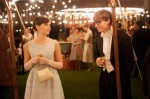 "Felicity Jones and Eddie Redmayne star in a scene from the movie ""The Theory of Everything."" (CNS photo/Focus Features)"