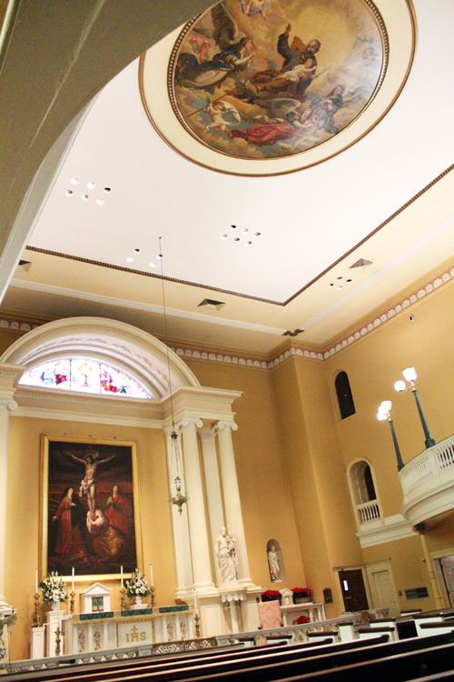 A First For St Joseph 19th Century Mural Placed On