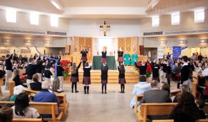 Students perform for CSW