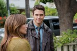 "Ryan Guzman and Jennifer Lopez star in a scene from the movie ""The Boy Next Door."" (CNS photo/Universal)"