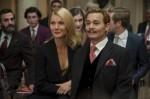 "Gywneth Paltrow and Johnny Depp star in a scene from the movie ""Mortdecai."" (CNS photo/Lionsgate)"
