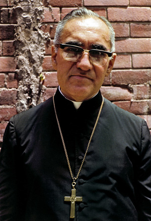 Salvadoran Archbishop Oscar Romero is pictured in a 1979 photo in San Salvador. (CNS photo/Octavio Duran)