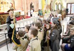 Young people sign song for JPII