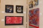 Malvern Retreat House's Art Show includes its Fiber Art display, including works (left) by artist Deborah Johnson.