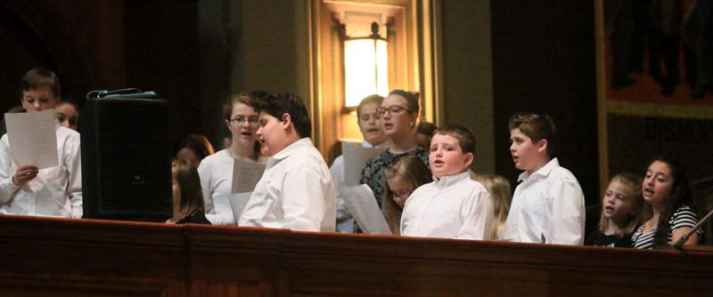 Catholic Community Children's Choir lend their vioces to the mass AAAAAAAAAAAAAAAAAAAAAAAAAAAAAAAAAAAAAAAAAAAAAAAAAAAAAAAAAAAAAAAAAAAAAAAAAAAAaaa