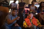"""Kevin Hart and Will Ferrell star in a scene from the movie """"Get Hard."""" (CNS photo/Warner Bros.)"""