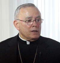 Archbishop Charles Chaput. (Photo by Sarah Webb)