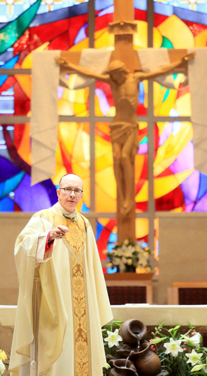 Bishop Timothy Senior homily