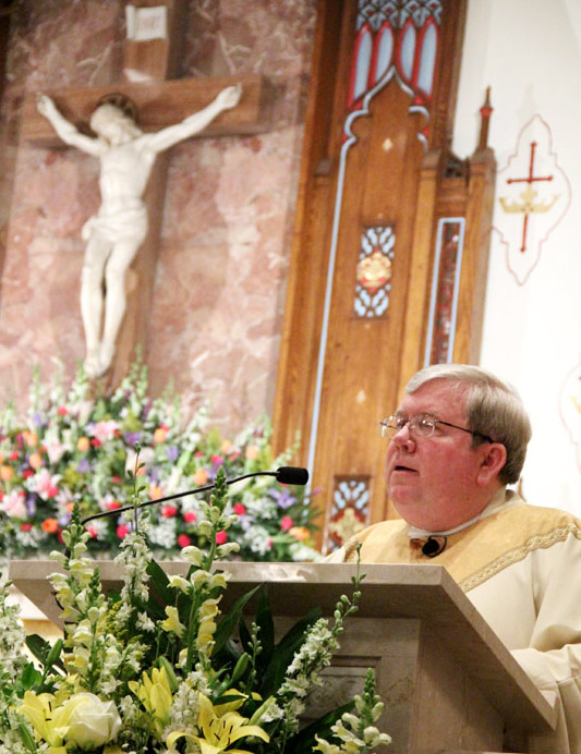 Fr James Lyons homily