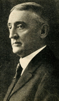 Walter George Smith, shown in 1923, was a prominent Catholic lawyer in Philadelphia who raised money and awareness of the Armenians. (Philadelphia Archdiocesan Historical Research Center)