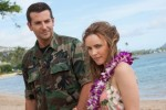 "Bradley Cooper and Rachel McAdams star in a scene from the movie ""Aloha.""  (CNS photo/Columbia Pictures)"
