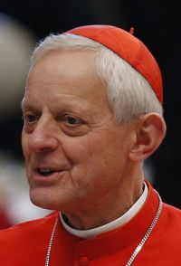 Cardinal Donald W. Wuerl of Washington  (CNS photo/Paul Haring)