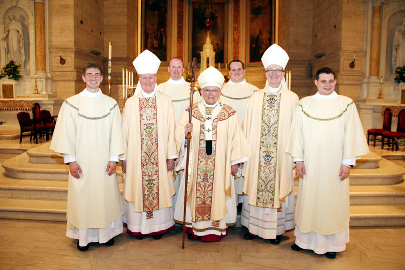 Matthew Biedrzycki, Fitzgerald, Matthew Windle, Chaput, Mark Cavera, Senior, Thomas O'Donald