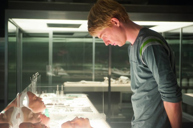 """Domhnall Gleeson stars in a scene from the movie """"Ex Machina.""""(CNS photo /Universal Pictures via EPK TV)"""