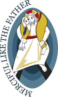 This is the logo for the Holy Year of Mercy, which opens Dec. 8 and runs until Nov. 20, 2016. (CNS/courtesy of Pontifical Council for Promoting New Evangelization)