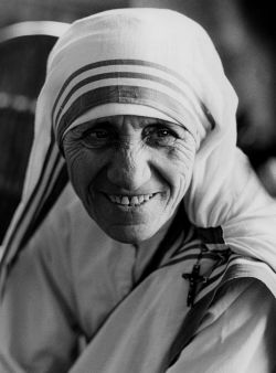 Blessed Teresa of Calcutta is pictured in a 1979 photo. (CNS photo/KNA)
