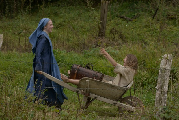 "Isabell Carre and Ariana Rivoire  star in a scene from the movie ""Marie's Story."" The Catholic News Service classification is A-II -- adults and adolescents. The film is not rated by the Motion Picture Association of America. (CNS photo/Film Movement) See MOVIE REVIEW April 28, 2015."