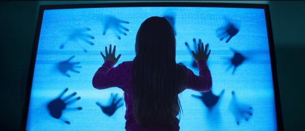 "Kennedi Clements stars in a scene from the movie ""Poltergeist.""  (CNS photo/Fox)"