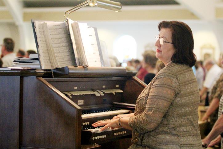Organist Irina Lurye