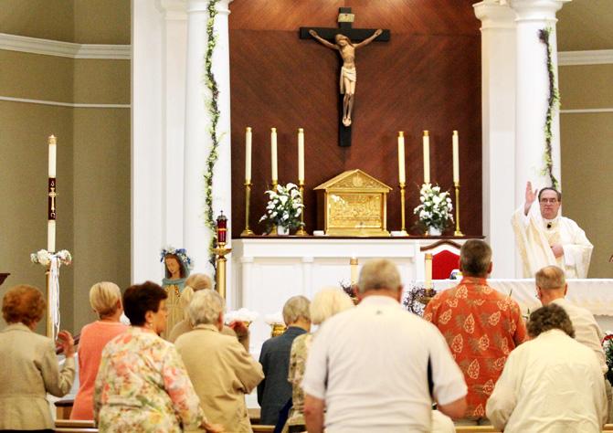 Fr Kramer final blessing