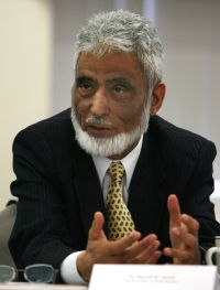Sayyid M. Syeed, national director of the Office for Interfaith and Community Alliances of the Islamic Society of North America, is seen in  this October 2008 file photo. (CNS photo/Tim Hunt, Northwest Indiana Catholic)