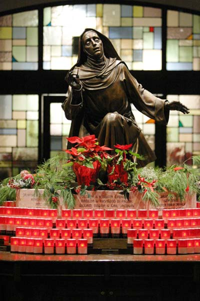 The National Shrine of St. Rita of Cascia in South Philadelphia. (Sarah Webb)