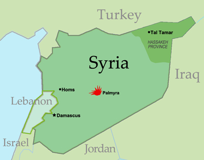 Syria-Lebanon map 2