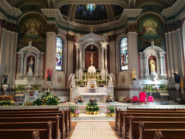The National Shrine of St. John Neumann at St. Peter the Apostle Church in Philadelphia. (courtesy Facebook)
