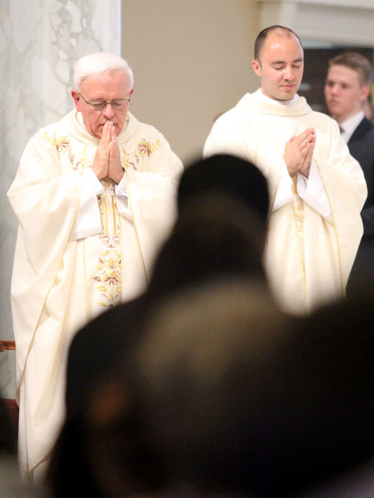 Msgr. John Marine and Fr. Sean Loomis